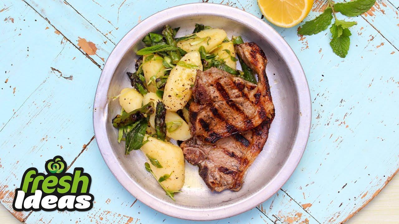Potato Salad Recipe With Bbq Lamb Chops Find My Recipes